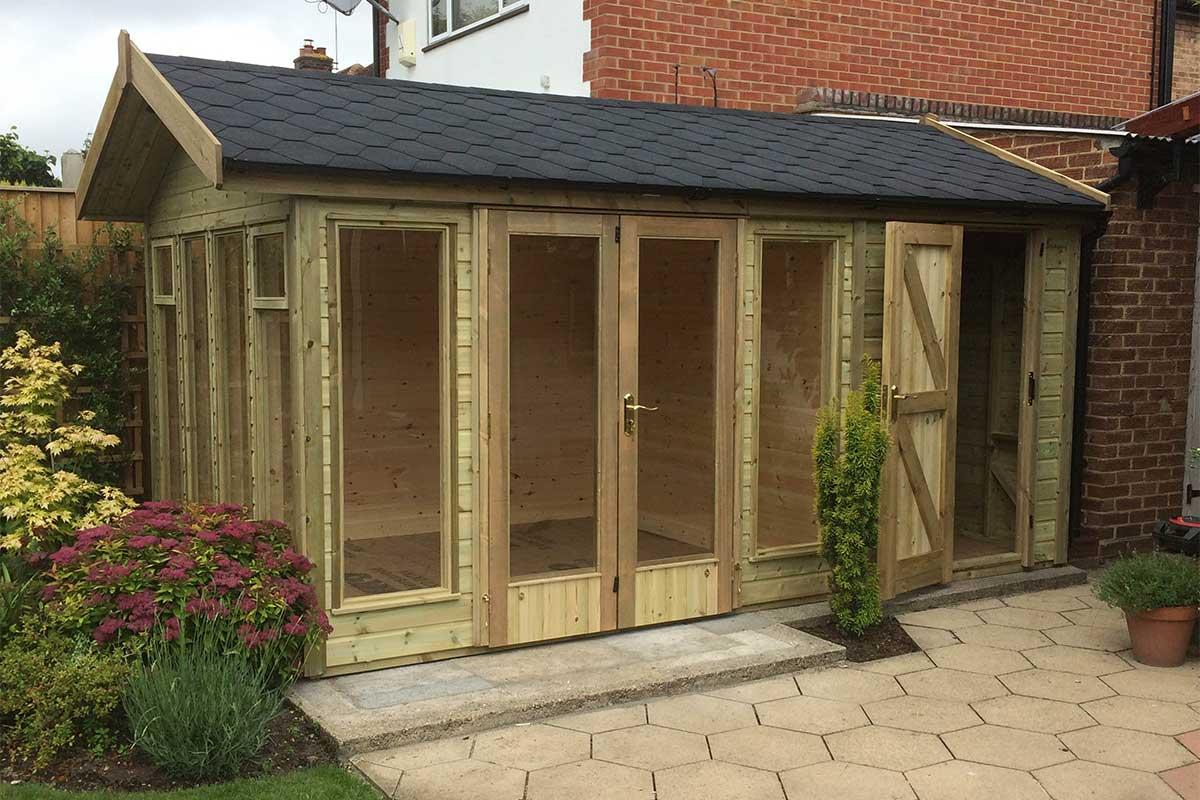 ketton summerhouse & Uppingham Summerhouse - Phoenix Garden Buildings