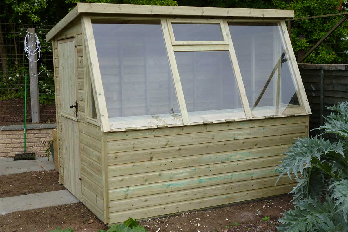 custom build potting shed