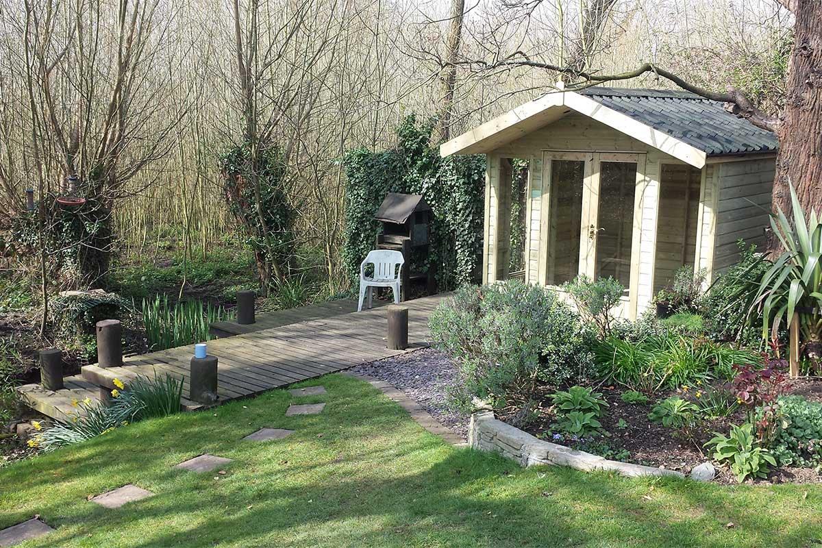 stamford summerhouse garden