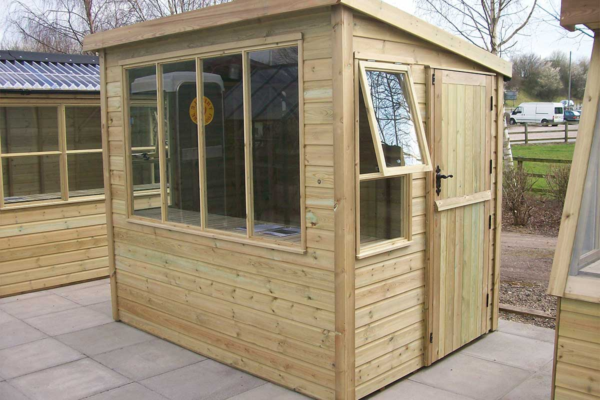 Rutland Potting Shed Phoenix Garden Buildings